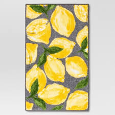 Threshold Kitchen Rug Lemons Kitchen Rug Gray Threshold Target