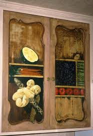 hand made painted kitchen cabinets decorative painting by mark