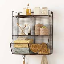 bathroom shelves ideas attractive wire wall shelf best 25 wire shelving ideas on