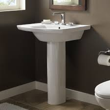 bathroom pedestal sink ideas captivating pedestal sink bathroom design ideas with american