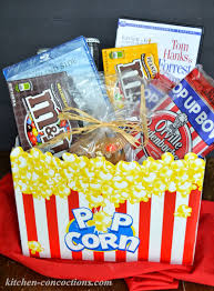 popcorn baskets popcorn m m s cookies plus gift
