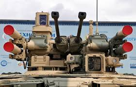 Russia Equipped Six Military Bases by Russia Is Now Sending U0027terminator U0027 Tanks To Syria The National