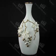 european high grade ceramic vase ornaments decorated large cupboard