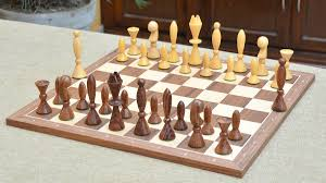 of reproduced anri space age chess pieces in sheesham u0026 box wood