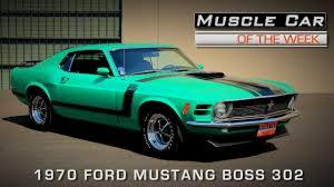 badass mustang 1970 ford mustang boss 302 is one badass ride