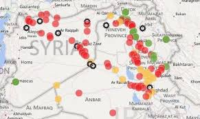 Iraq Province Map Islamic State