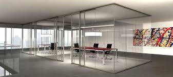 cloison verre bureau artdesign cloison amovible vitrée sans montants verticaux