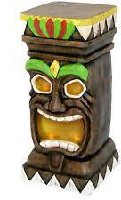 Solar Garden Ornaments Outdoor Decor Garden Tiki Statue Hawaii Outdoor Decor Yard Tropical Totem