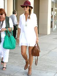 stacy keibler shows off her cute maternity style in cowgirl boots