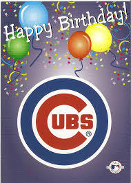 chicago cubs happy birthday greeting card birthday pinterest
