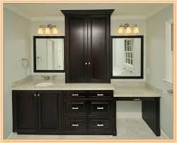 Mirrors For Bathroom Vanity Bathroom Single Bathroom Vanity With Makeup Table White Marble
