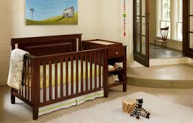 4 In 1 Convertible Crib With Changing Table Cogancribsetting A Jpg