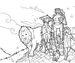 20 Free Printable Wizard Of Oz Coloring Pages Everfreecoloring Com Wizard Of Oz Coloring Pages