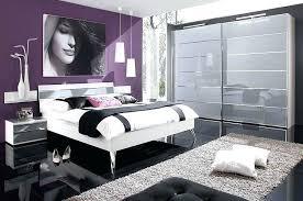 chambre violet blanc charmant deco chambre violet photos de d coration et noir