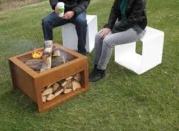 Firepit Wood Wood Storing Bonfire Boxes Pit