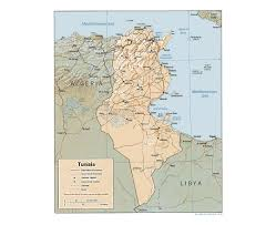 Italy Map With Cities Map Of Tunisia With Cities Google Search Maps Pinterest Of