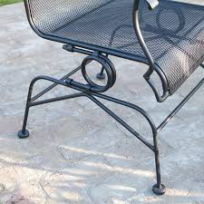 Bouncy Patio Chairs by Amazon Com Belham Living Stanton Wrought Iron Coil Spring Dining