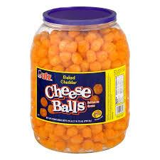 utz baked cheddar cheese balls 28 0 oz walmart