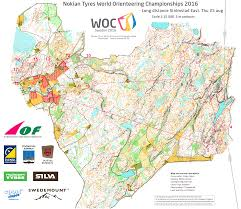 Map Request Woc 2016 Long Women August 25th 2016 Orienteering Map From Woc2016