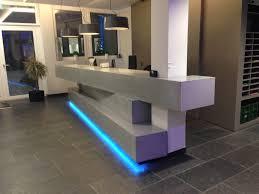 Concrete Reception Desk Chaux De Contern Stayconcrete