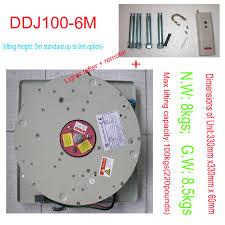 Chandelier Lifter Ddj100kg 6m Chandelier Hoist Light Lifting System L Winch