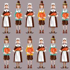 pilgrim clipart wanoag indians pencil and in color pilgrim