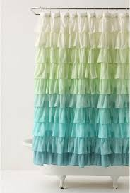 Ruffled Shower Curtains Anthropologie Ruffle Shower Curtain Tutorial Apparel By