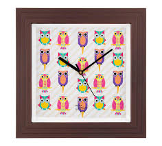 buy stylish wall clocks online india circus