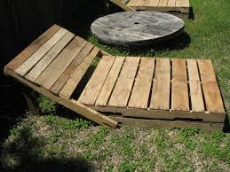 How To Make Patio Furniture Out Of Pallets by Shoestring Pavilion Pallet Loungers