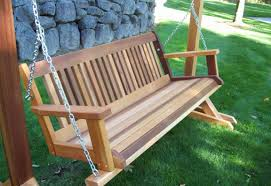 bench inviting wooden bench swing kits splendid wooden garden
