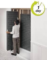 Tiles For Bathroom Walls - revolutionary shower bathroom remodel look like tiles by
