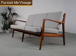 Mid Century Modern Style Sofa Attractive Mid Century Modern Sofa Wood 18 Found 252520vintage