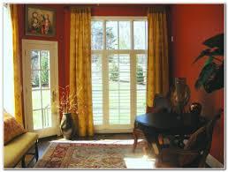 patio door window treatment ideas pictures patios home design