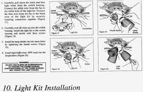 hton bay universal light kit ceiling fan light kit installation instructions www