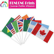 promotional fans promotional fans flag with plastic stick klpfp 007