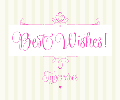 wishes script calligraphy font family by typesenses