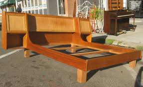Mid Century Beds Furniture Great Mid Century Bed Frame Designs Custom Decor