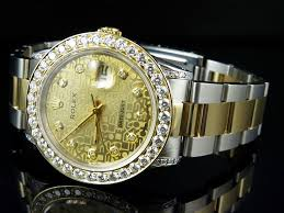 oyster bracelet images Rolex datejust 18k 2 tone stainless steel oyster bracelet diamond jpg