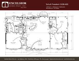 schult manufactured homes floor plans schult freedom 5228 405 excelsior homes west inc