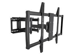 full motion corner tv wall mount stable series full motion wall mount for extra large displays max