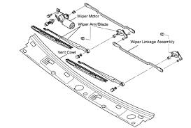 how to repair honda passport windshield wiper assembly windshield