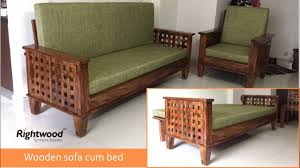 Wooden Furnitures Sofa Wooden Sofa Bed Four Square Rightwood Youtube