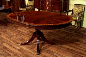 Round Dining Table With Hidden Chairs Bedroom Attractive Round Dining Table Leaf Mahogany Storage Oval