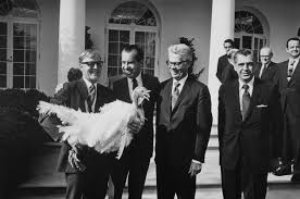 nixon white house had to nail thanksgiving turkey by its