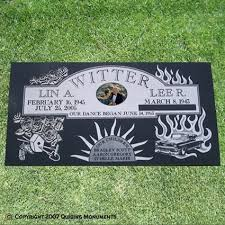 Flat Headstones With Vase Companion Flat Grave Markers Quiring Monuments