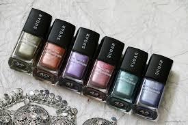 sugar tip tac toe nail lacquer u2013 metallic collection review