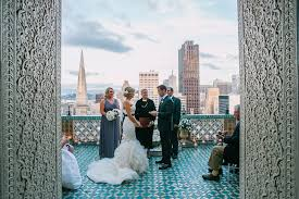 wedding planners san francisco fairmont penthouse gallery oui weddings and events