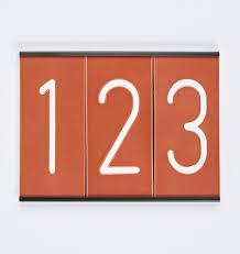 house numbers rejuvenation