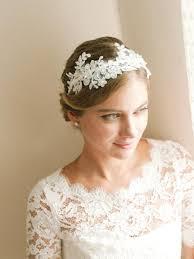 wedding hair with headband lace wedding headband bridal headband flower headband wedding
