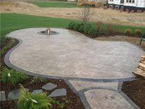poured concrete patio as patio covers on patio enclosures